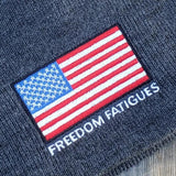 Full Color American Flag Beanie