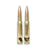 .50 caliber bullet bottle opener polished brass