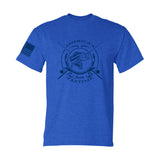 Men's triblend fishing tshirt American's Favorite pastime