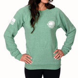 Women's Branded Crewneck Sweatshirt