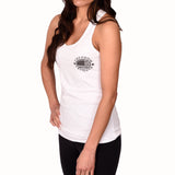 Women's Branded Racer-Back Tank