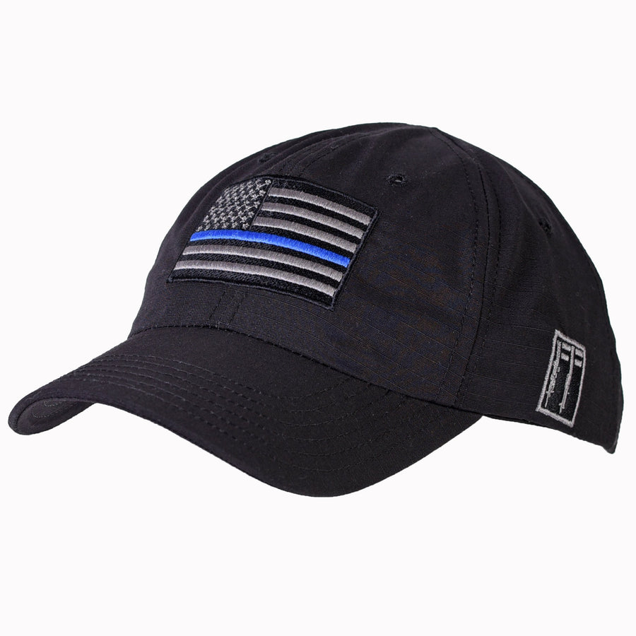 Thin Blue Line Full Fabric Range Hat