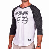 '76 Stars & Stripes Raglan - Gray