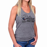 Women's Pretty Packin' Patriot Tank by Pew Pew Nation