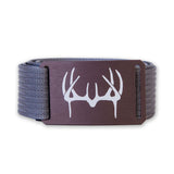 Etched Antlers - Bronze Grip6 Belt