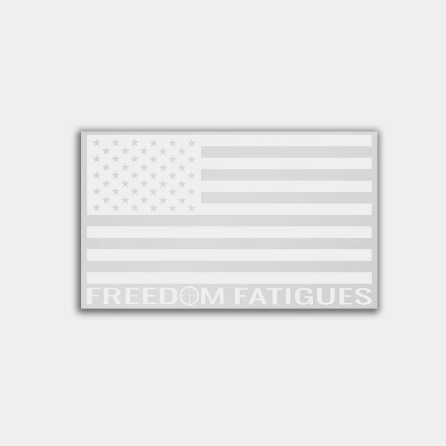 Branded American Flag - Vinyl Decal