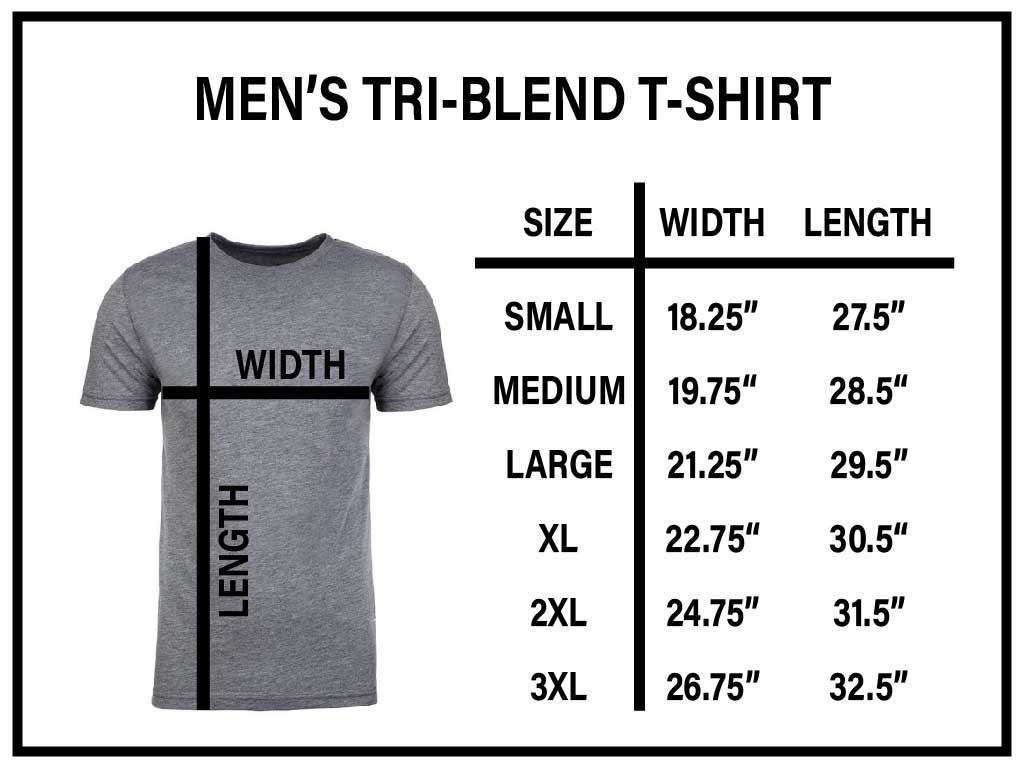 Mens Tri-Blend Next Level