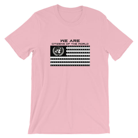 "Pink ""Citizens of the World"" T-Shirt"