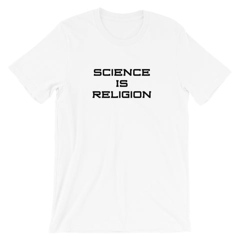 "White IX ""Science Is Religion"" T-Shirt"