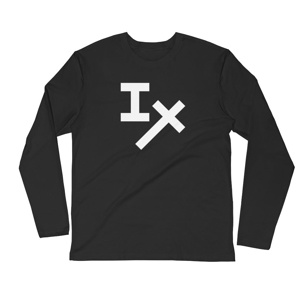 Black IX Long Sleeve Shirt
