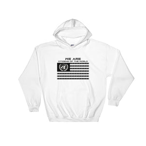 "White ""Citizens of the World"" Hoodie"