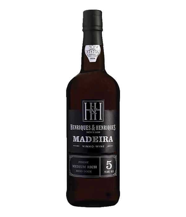 Henriques & Henriques Finest Medium Rich 5YO (500ml)