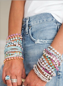 Touchstone Crystal Ice Bracelets