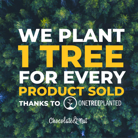 we plant one tree for every product sold