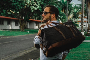 Man carrying Bag