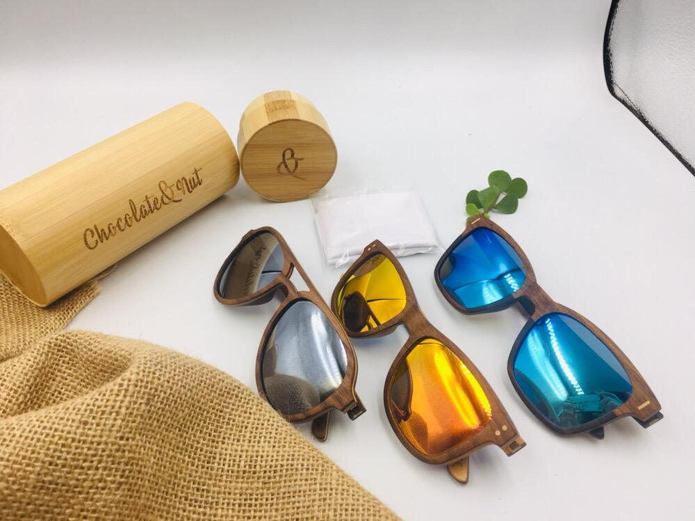 wooden sunglasses_Chocolate&Nut