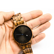 Maiao Wood Watch - Chocolate&Nut