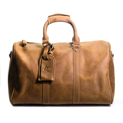London Duffle Bag - Chocolate&Nut