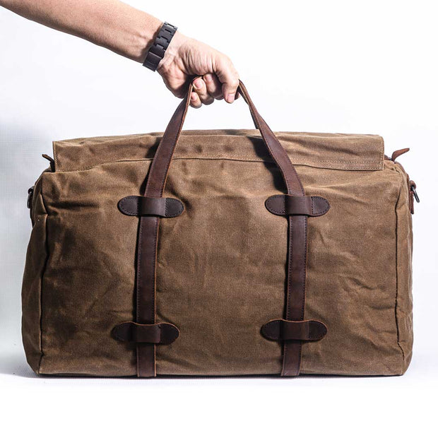 Denver Duffle Bag - Chocolate&Nut