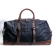 Amsterdam Canvas Duffle Bag - Chocolate&Nut
