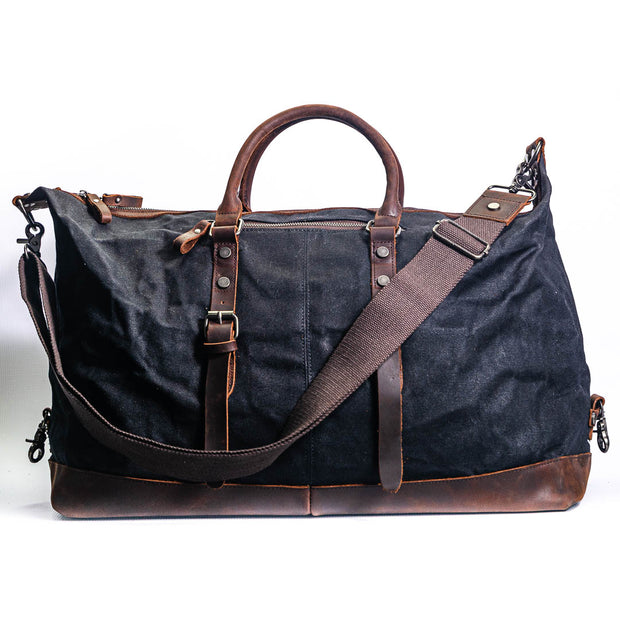 Amsterdam Duffle Bag - Chocolate&Nut
