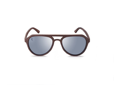 Tahiti 2 Polarized Sunglasses - Chocolate&Nut