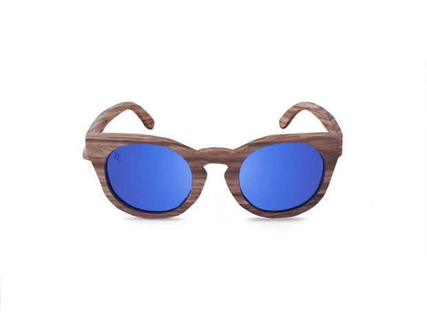 Tahuata Polarized Sunglasses - Chocolate&Nut