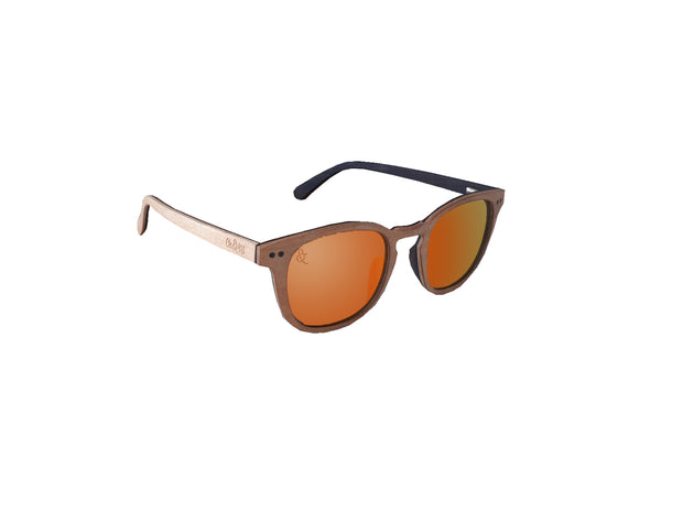 Mehetia Polarized Sunglasses - Chocolate&Nut