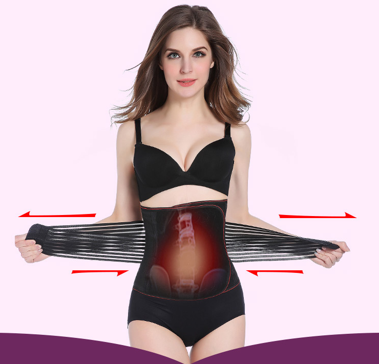 Thin waist slimming belly strap