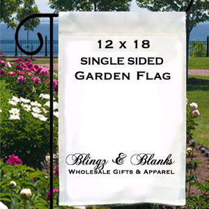 12x18 SINGLE Ply Garden Flag