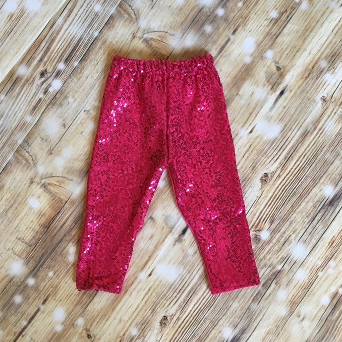 Hot Pink Sequin Pants_Blingz & Blanks Wholesale