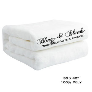 Fleece Plush Baby Blanket