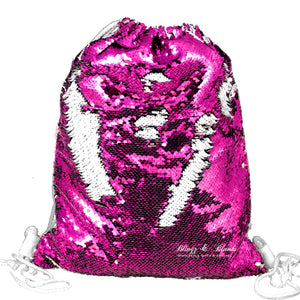 Sequin Drawstring Backpacks