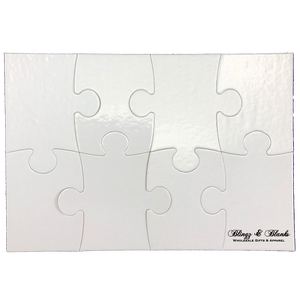 8pc Cardboard Puzzle