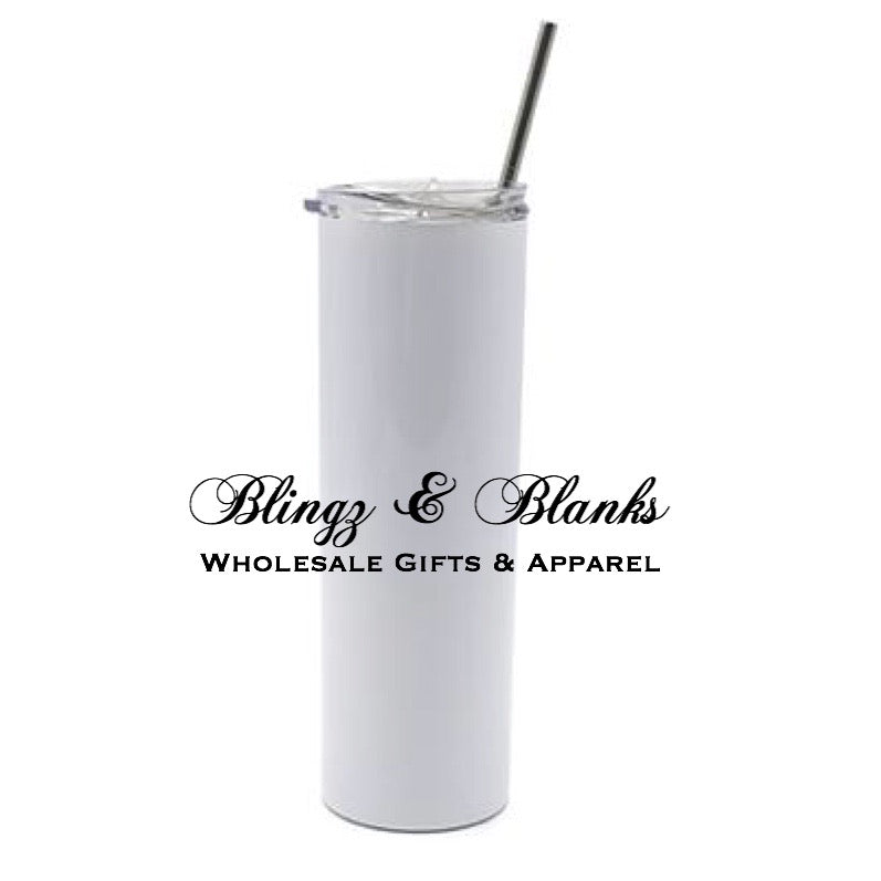 Sublimation Skinny Tumbler - Straight