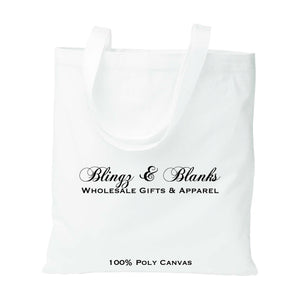 Poly Canvas Tote Bags