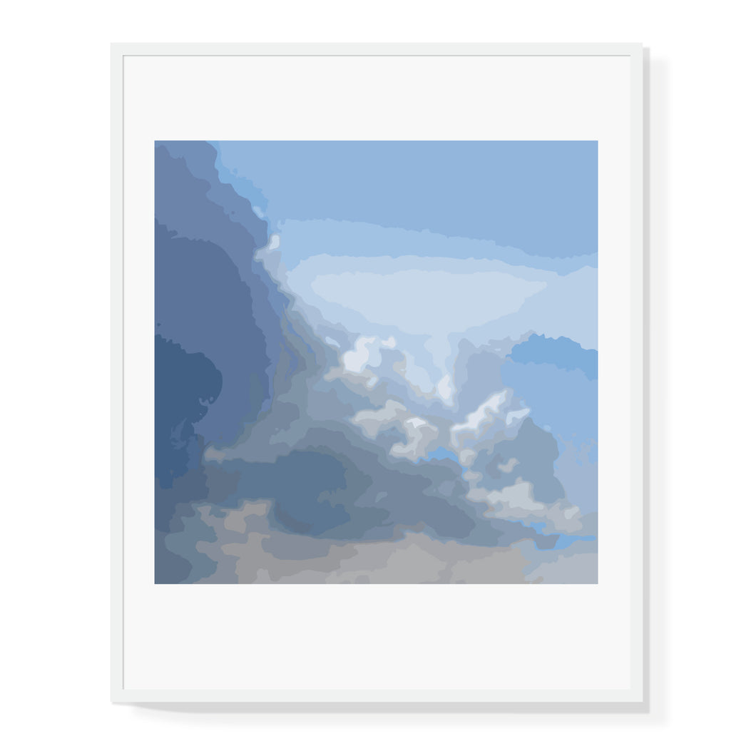 Abstract Clouds Limited Edition Print