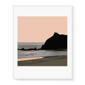 Limited Edition Coastal Cliffs Print