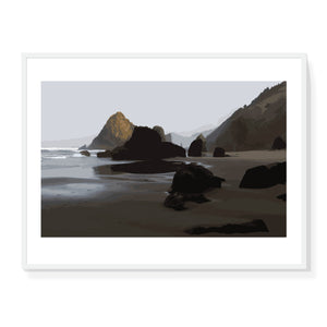 Beach at Dawn Limited Edition Print