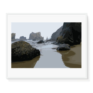 Limited Edition Coastal Landscape