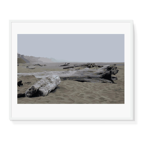 Ocean Logs Limited Edition Print