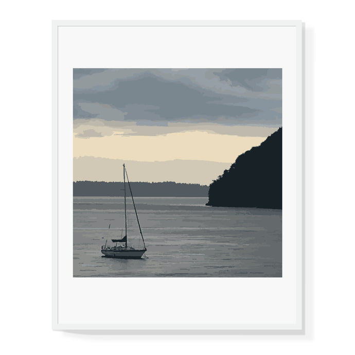 Puget Sound Sailing Limited Edition Print