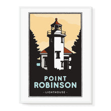 Load image into Gallery viewer, Point Robinson Lighthouse Illustrated Poster