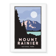 Load image into Gallery viewer, Mt. Rainier Illustrated Poster