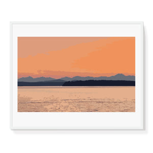 Limited Edition Coastal Sunset Print