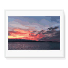 Load image into Gallery viewer, Olympic Sunset Burst Limited Edition Print