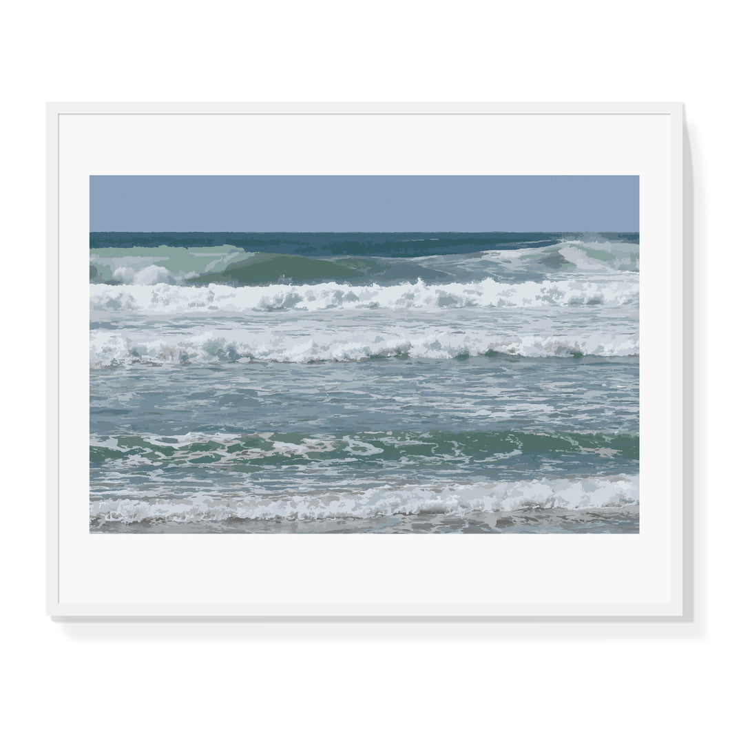 Coastal Waves Limited Edition Print