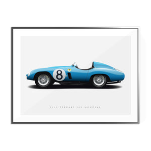 1955 Ferrari 500 Mondial in Blue