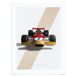 1968 Lotus 49 R8 in Red/Gold