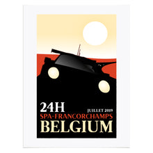 Load image into Gallery viewer, SPA Francorchamps Inspired Graphic Poster
